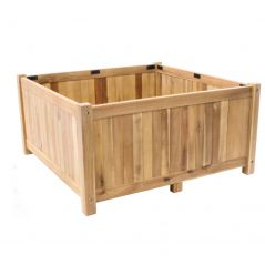 Hardwood planter Enjoyplanter Falco 100x100x40 cm