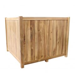 Hardwood planter Enjoyplanter Falco 100x100x80 cm