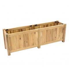 Hardwood planter Enjoyplanter Falco 120x30x40 cm