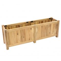Hardwood planter Enjoyplanter Falco 120x40x40 cm