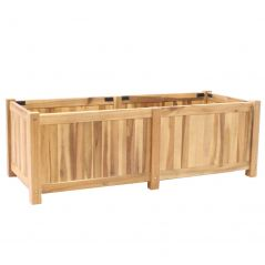 Hardwood planter Enjoyplanter Falco 120x50x40 cm