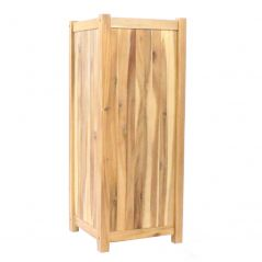 Hardwood planter Enjoyplanter Falco 40x40x100 cm