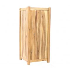 Hardwood planter Enjoyplanter Falco 40x40x80 cm
