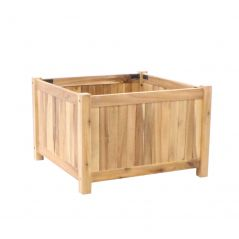 Hardwood planter Enjoyplanter Falco 60x60x40 cm