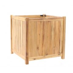 Hardwood planter Enjoyplanter Falco 60x60x60 cm