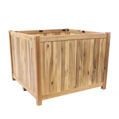 Hardwood planter Enjoyplanter Falco 80x80x60 cm